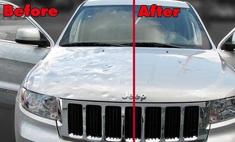 Buying A Car With Hail Damage >> Hail Damage Repair Auto Hail Damage Repair Dfw